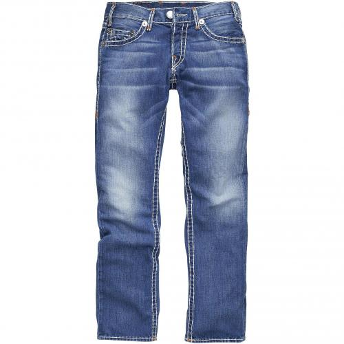 True Religion Herren Jeans Logan Super T Slim Ham Industrial