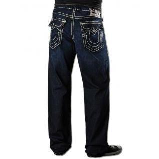 True Religion Herren Jeans Point Guard Super T