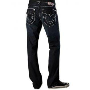 True Religion Herren Jeans Ricky Giant Big T