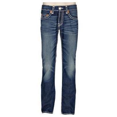 True Religion Jeans Bobby LPD Med Blue