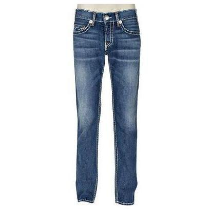 True Religion Jeans Logan Super T Ham Mid Blue