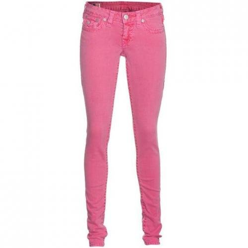 True Religion Julie Super T Skinny Fuchsia