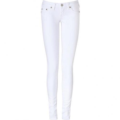True Religion Optic White Super T Stella Jeans