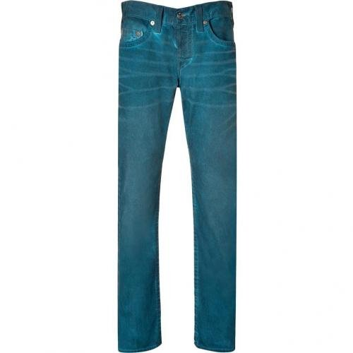 True Religion Peacecock Geo Slim Dusty Ridge Jeans