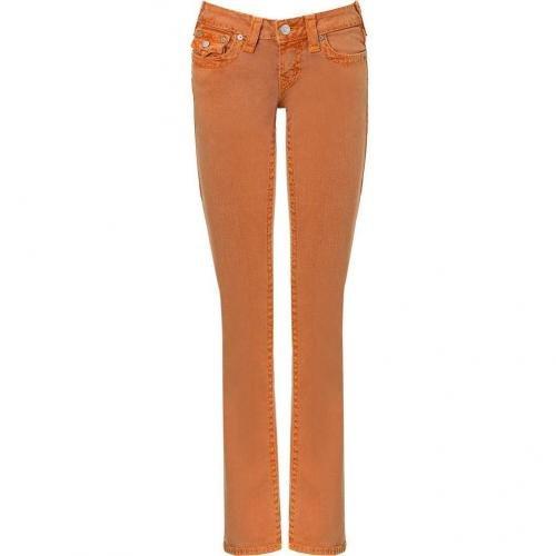 True Religion PX Orange Super T Billy Pants