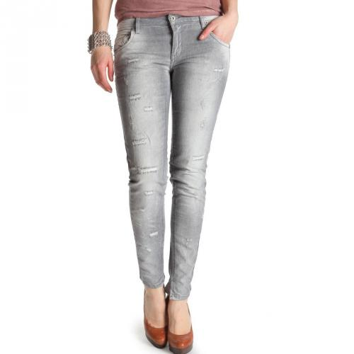 Twin-Set Jeans, grau