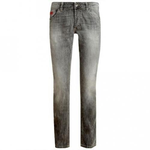 Unlimited - Hüftjeans Denim Man Black Grau
