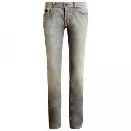 Unlimited - Hüftjeans Denim Man Grey Grau