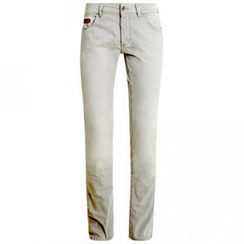 Unlimited - Hüftjeans Denim Man Light Grey Grau