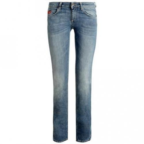 Unlimited - Hüftjeans Modell Denim Woman 1 Anno Farbe Dunkelblau
