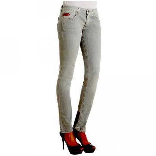 Unlimited - Hüftjeans Modell Denim Woman Light Grey Farbe Grau