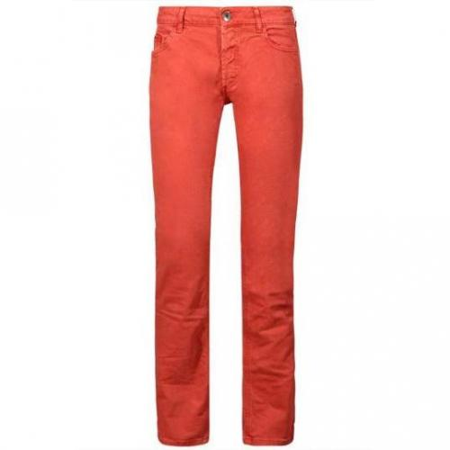 Unlimited - Hüftjeans Man Regular Carminio Rot