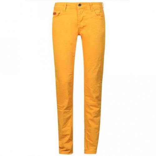 Unlimited - Hüftjeans Man Regular Giallo Gelb
