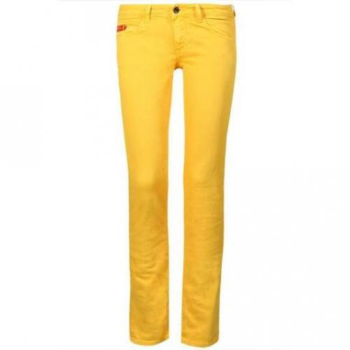 Unlimited - Hüftjeans Modell Woman Regular Limone Farbe Gelb