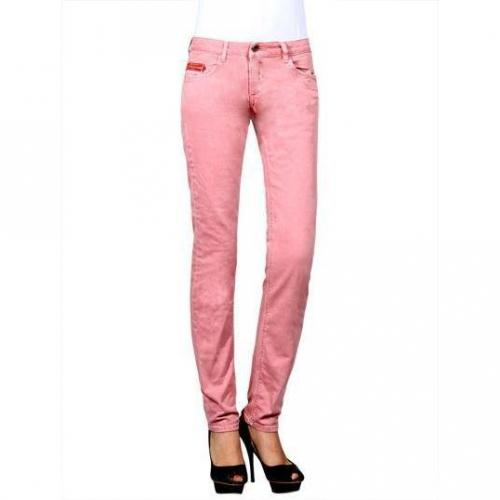 Unlimited - Hüftjeans Modell Woman Regular Rosa Farbe Rosa