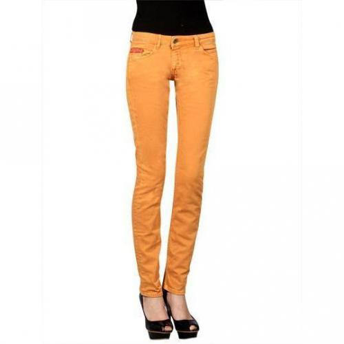 Unlimited - Hüftjeans Modell Woman Regular Zucca Farbe Orange