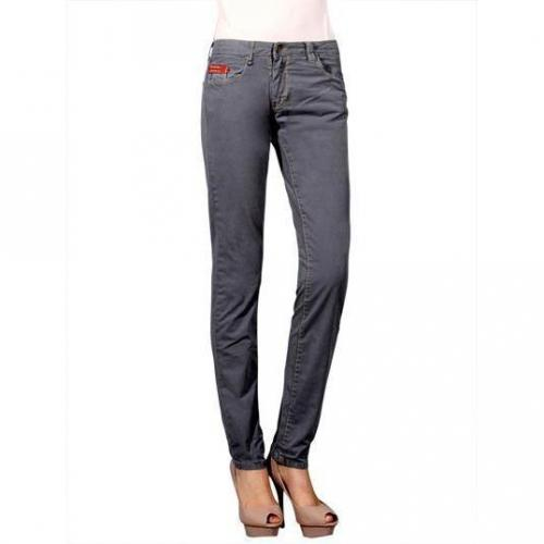 Unlimited - Slim Modell Easy Woman Grigio Farbe Grau