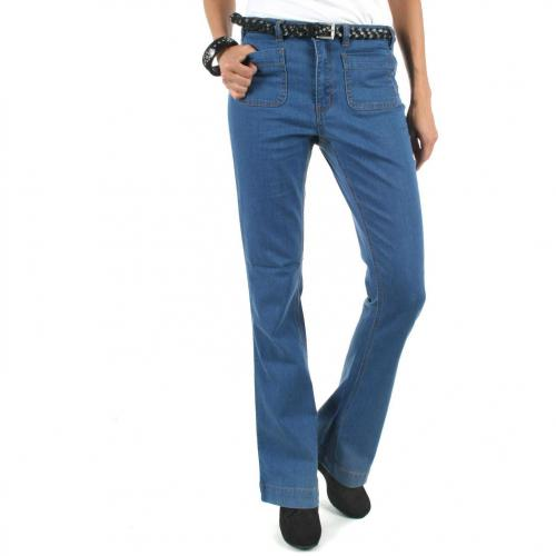Vila Cocoo HW Flared Jeans, denim/garment