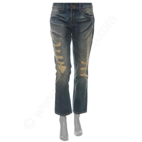 Vintage Laundry Jeans Boyfriend Crop blue