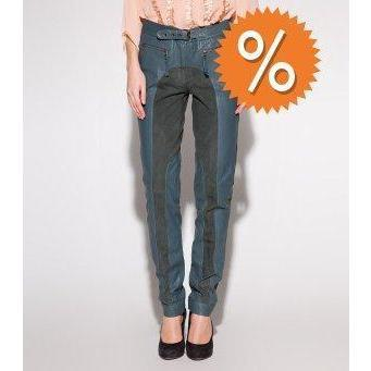 Whiite Jeans dunkelgrün