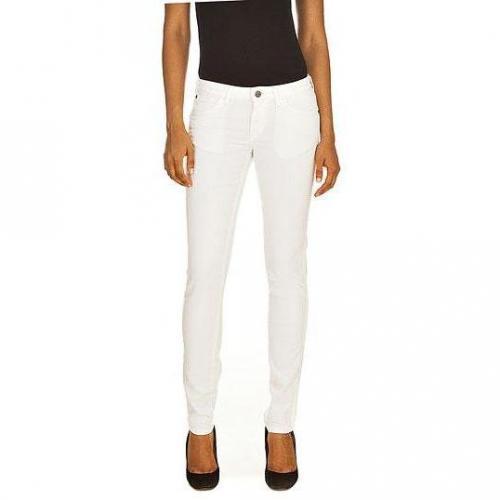Wrangler - Skinny Modell Molly White Farbe Weiß