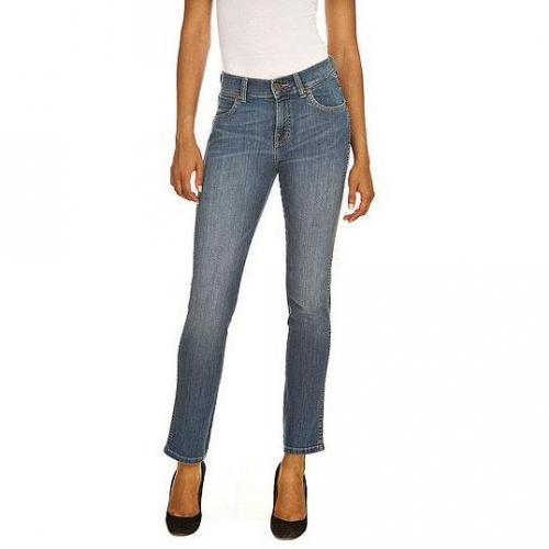 Wrangler - Slim Modell Caitlin Collegiate Blue Farbe Helle Waschung