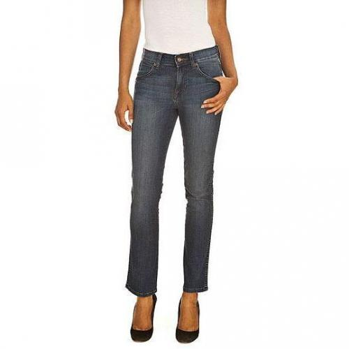 Wrangler - Slim Modell CAITLIN WORN ROGUE Farbe Blaue Waschung
