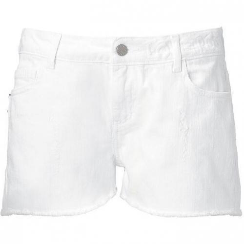 Zadig & Voltaire White Primo Twill Shorts