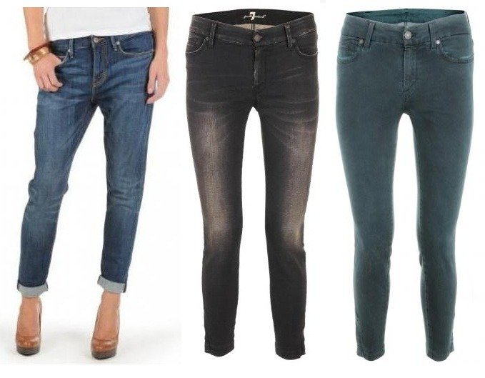 """Die perfekte Herbstjeans - ist es die """"Cropped Jeans""""?"""
