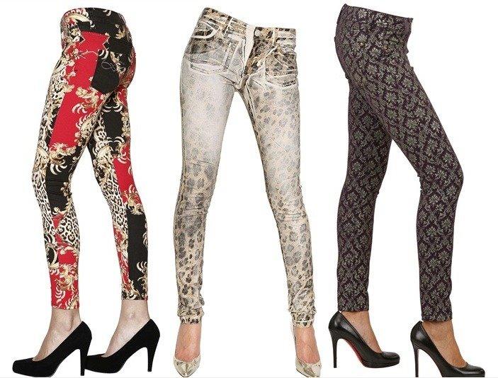 Jeans Styles- das neue Ding: ausgefallene Muster