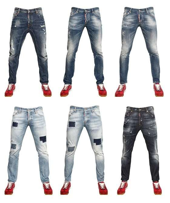 Dsquared Jeans 2013 – es bleibt rough