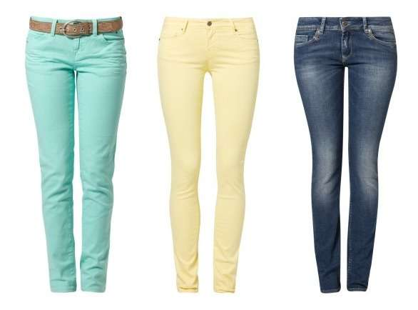 Indigo vs. Schwarz vs. Farbenfroh – welche Jeans darf es sein?