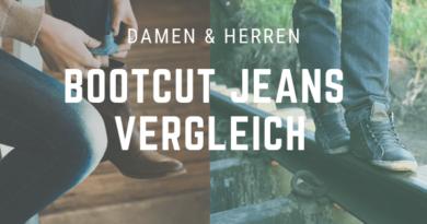Bootcut Jeans Vergleich