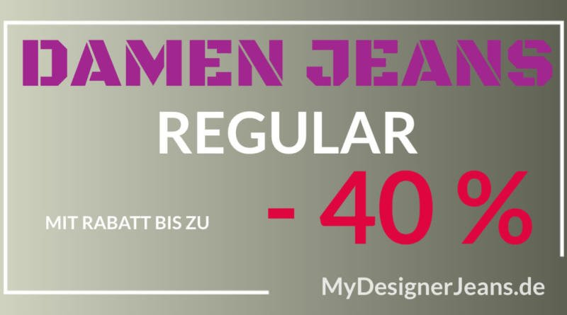 Damen Jeans Regular