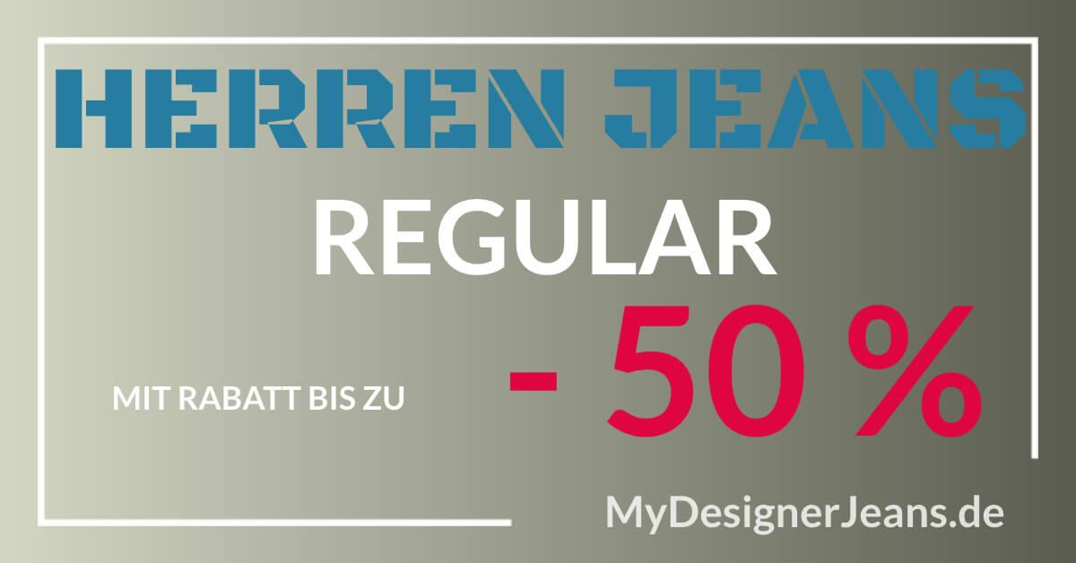 Herren Regualr Jeans