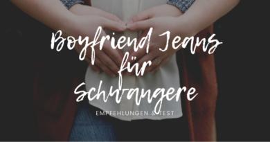 Boyfriend Jeans für Schwangere