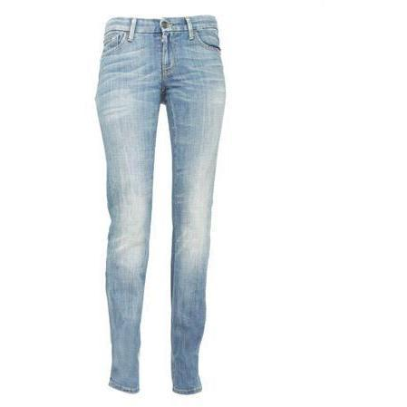 7 For All Mankind - Hüftjeans Modell Kimmie Straight Leg Sian Farbe Helle Waschung