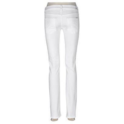 7 For All Mankind Jeans Straight Weiß