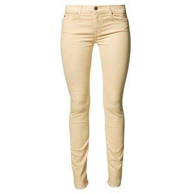 7 for all mankind SKINNY Jeans gelb
