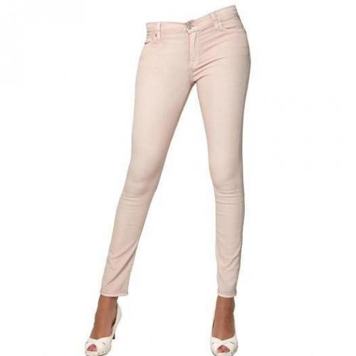 7 For All Mankind - Skinny Light Drill Jeans