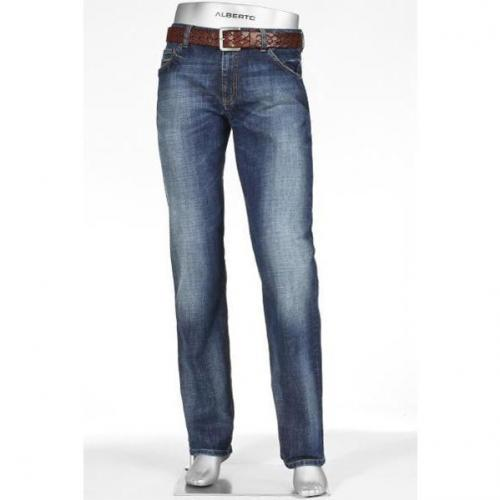 Alberto Modern Fit Authentic Denim 1896/Stone/885
