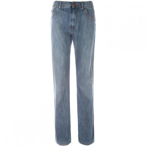 Alberto Stone Modern Fit Jeans Straight Fit Stone