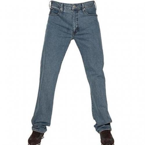 Armani Jeans - 20Cm Denim Stretch Gerades Bein Jeans