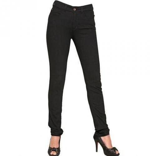 Armani Jeans - High Waist Denim Stretch Leggings Jeans