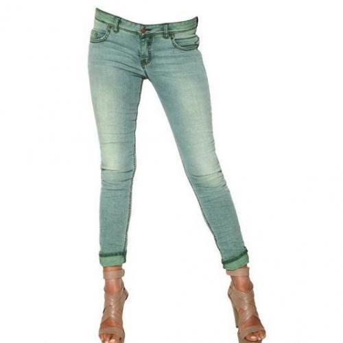 Avantgard Denim - Washed Denim Strech Skinny Jeans