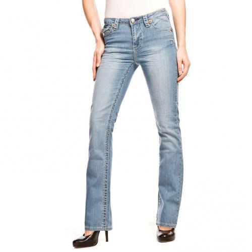 Blue Fire Positano Überlänge 36 Jeans Straight Fit Used