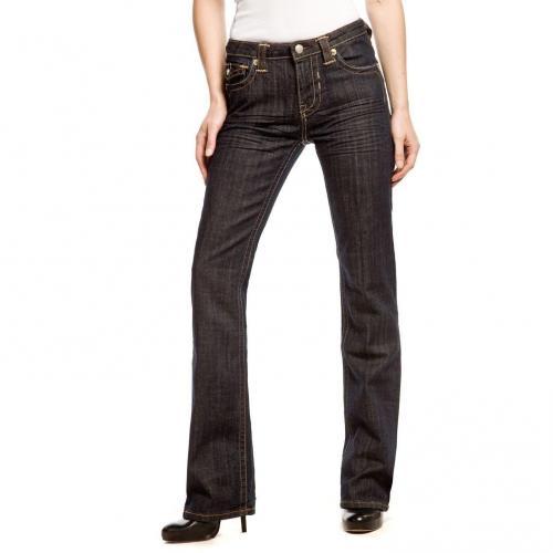Blue Fire Positano Überlänge 36 Straight Fit Jeans Onewash
