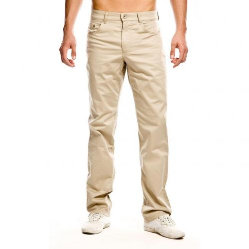 Brax Cooper Colored Jeans Straight Fit Beige