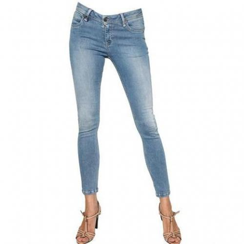 Burberry Brit - Westbourne Skinny Stretch Denim Jeans Blue
