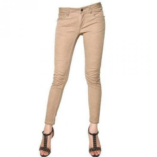 Burberry Brit - Wetstbourne Washed Stretch Denim Jeans Beige